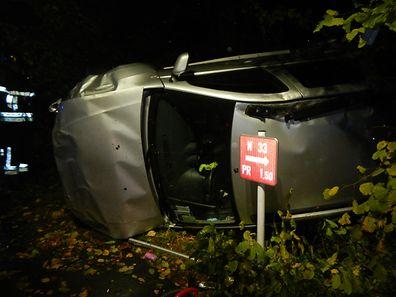 Der Unfall auf dem Kayler Poteau ereignete sich kurz nach 18.00 Uhr.