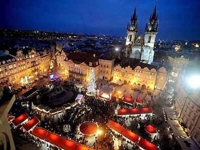 Prague is said to be one of the nicest cities to celebrate Christmas