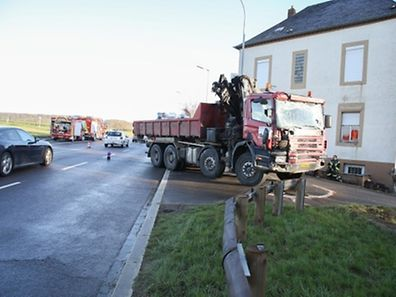 "The ""Schlammesté"" after the Monday morning accident"
