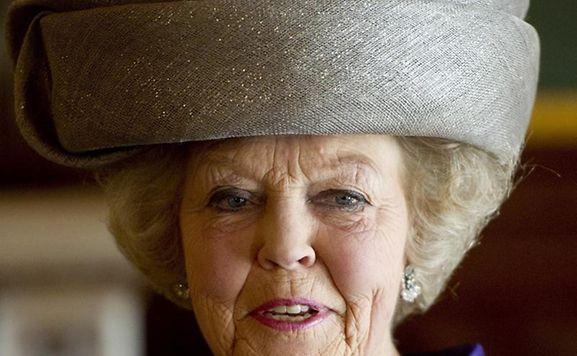 Königin Beatrix der Niederlande bei ihrem Staatsbesuch in Luxemburg. Foto: Robin Utrecht