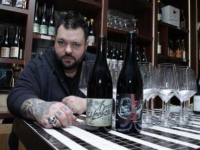 """Les étiquettes des bouteilles sont créées par un graphiste, dans l'esprit """"Zanzo""""."""