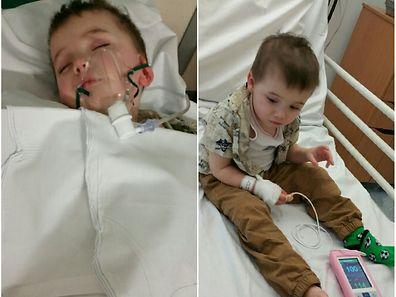 Als der Krebs bei Kian diagnostiziert wurde, war er erst 18 Monate alt.