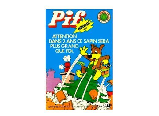 Le numéro 347 de Pif Gagdet vendu en 1975 à 360.000 exemplaires