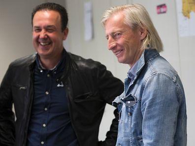 Une deux de Caza avec Carlo Weis, photo Guy Wolff