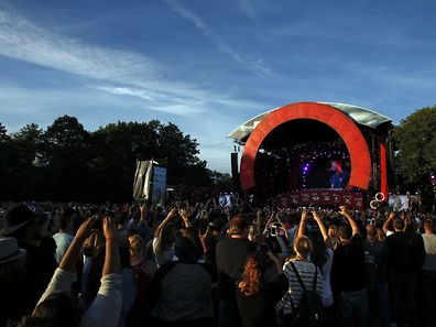 General view of the fourth annual Global Citizen Festival in Central Park  Manhattan