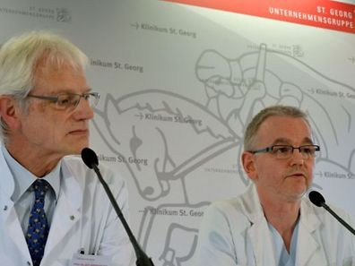 Le patient est décédé à la clinique St Georges à Leipzig.