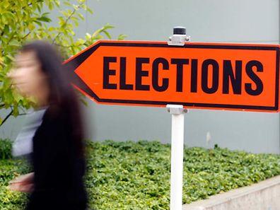 17 Prozent der Wähler waren auf dem Weg ins Wahllokal noch unentschieden.