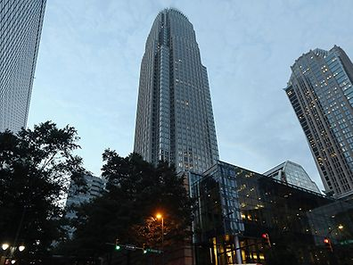 Bank of America corporate center in Charlotte, North Carolina