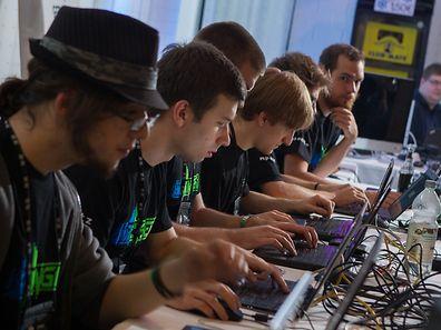 Hack.lu,Hacker-Meeting. Foto:Gerry Huberty