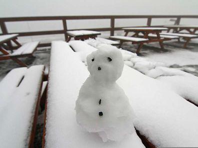 In den Mittelgebirgen und den Alpen schneit es von Mittwochmorgen an oberhalb von 800 Metern.