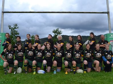 The Walfettes, Luxembourg's only women's rugby team