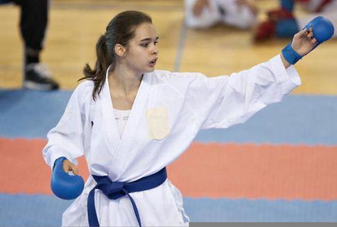 Bei der EM im Karate: Warling kämpft am Samstag um Bronze