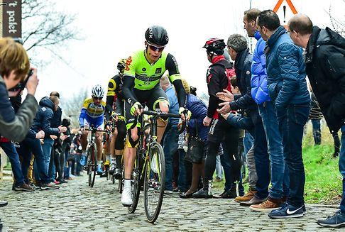 Radsport: Kirsch beim GP Samyn knapp geschlagen