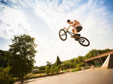 Sommer, Sonne, BMX, Foto Lex Kleren