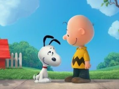 Snoopy et Charlie Brown.