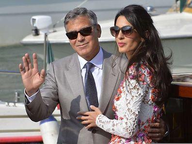 Clooney Braut ist Juristin und Menschenrechts-Aktivistin.