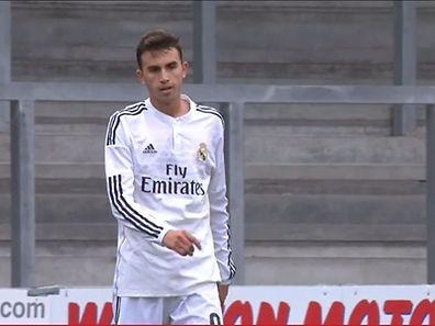 """Pourtant un des grands espoirs du Real Madrid, Borja Mayoral a complètement """"foiré"""" son penalty contre Liverpool"""