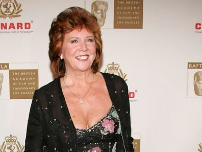 Archive photo shows actress Cilla Black arriving at the 14th Annual Britannia Awards at the Beverly Hilton Hotel on November 10, 2005