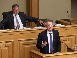 Finanzminister Pierre Gramegna wird am Mittwoch den Haushaltsentwurf 2016 im Parlament hinterlegen.