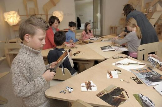The Mudam offers a wide range of workshop and activities for children and teenagers