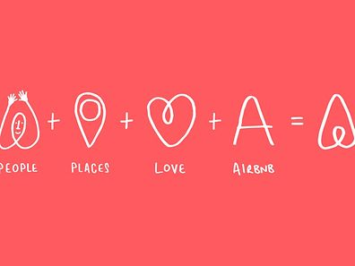 Explaining the new Airbnb logo