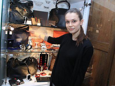 Nora Winandy eröffnete ihren Shop vor rund zwei Monaten.