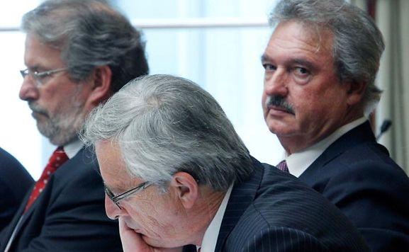 Gedrückte Stimmung auf der Regierungsbank im Parlament.