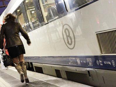 Bahnreisende sollten sich vor einem Trip nach Belgien am Freitag über Störungen informieren.