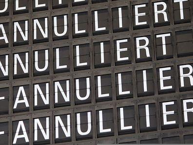 Rund 1500 Flüge fielen bei Lufthansa aus.