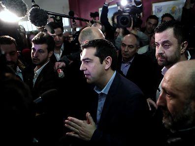 Syriza-Chef Alexis Tsipras steht nun in der Pflicht.