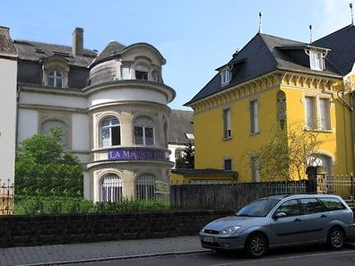 "A photomontage showing the ""Maison Berbère"" at the Grevenmacher site"