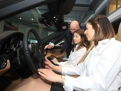 31.1.2015 Luxembourg, ,Howald, Porsche, 911 Targa Autofestival photo Anouk Antony