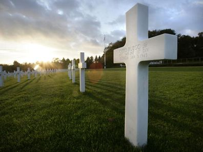 The American Military Cemetery in Hamm