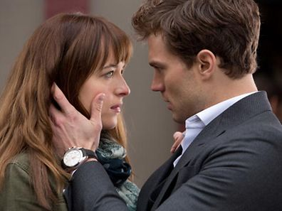 A still from the movie Fifty Shades of Grey