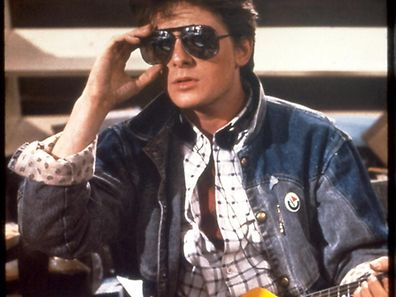 Marty McFly (Michael J. Fox) in Back to the Future