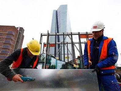 Selon la BCE, tous les indicateurs de confiance des entreprises et des ménages sont orientés à la hausse.  (Photo: Reuters)