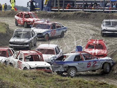 13.6.Schuttrange / Stock Car Course / 2. Manche Klasse II /  Aktion  Foto: Guy Jallay
