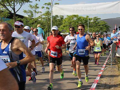 Fotos vom 32. JP Morgan City Jogging in Luxemburg.