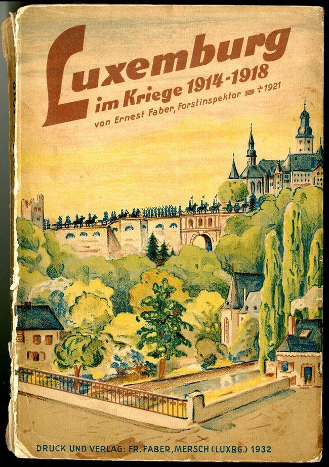 Ernest Faber blickte 1932 auf die Kriegszeit zurück.