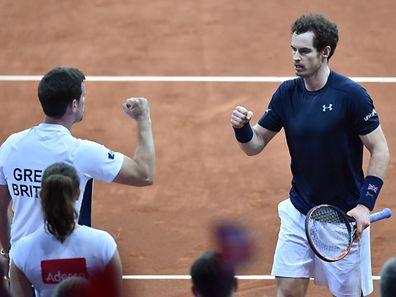 Andy Murray wurde seiner Favoritenrolle gerecht.