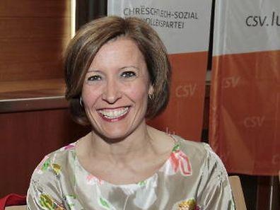 Diane Adehm sitzt seit 2011 für die CSV im Parlament.