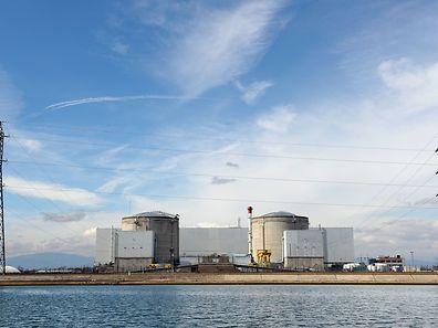 La centrale nucléaire de Fessenheim, la plus vieille en activité du parc français, en mars 2011