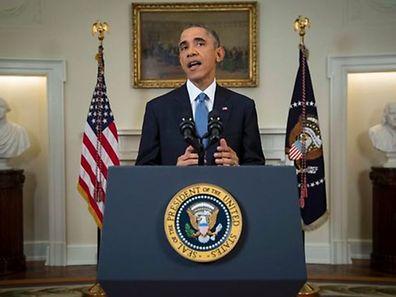 """""""Todos somos americanos"""" (Nous sommes tous américains) a lancé Barack Obama lors d'une allocution qui devrait marquer son passage à la Maison Blanche."""