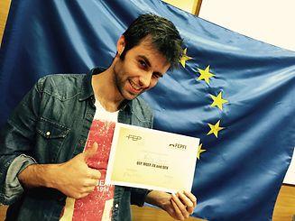 Nélson Coelho recebeu mais um prémio internacional no fim-de-semana