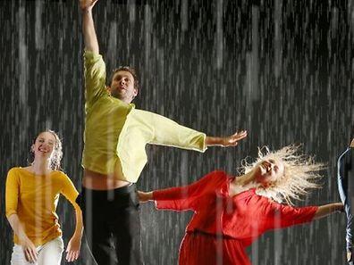 Rain at Cube 521