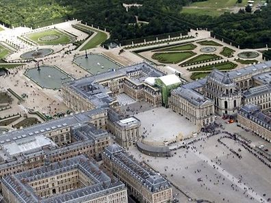 View over Versailles palace