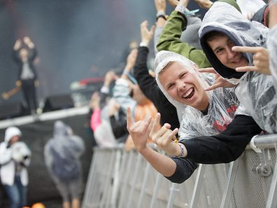 28.06.2014 - Rock A Field / RAF2014 / Musik / Konzert / Festival / Tag2 / Foster the people  - Foto: Daniel Clarens