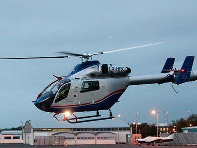 Die Hubschrauber der Luxembourg Air Rescue fliegen nur bei Tageslicht - im Winter sind das teilweise nur ein paar Stunden.
