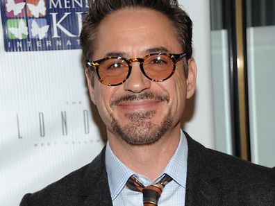 """Actor Robert Downey, Jr. attends the """"Four Kings and an Ace"""" celebrity charity poker tournament at The London Hotel on Saturday, Dec. 1, 2012, in West Hollywood, Calif. (Photo by Dan Steinberg/Invision/AP)"""