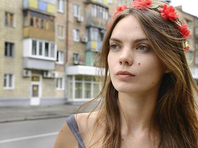Oksana Shachko of Femen
